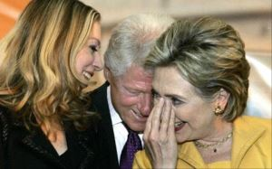 Bill Clinton dede oluyor